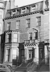 82 Marlborough (ca. 1942), photograph by Bainbridge Bunting, courtesy of The Gleason Partnership