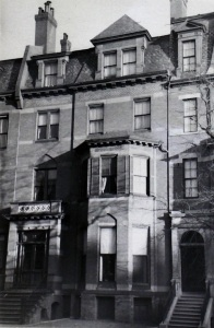 86 Marlborough (ca. 1942), photograph by Bainbridge Bunting, courtesy of the Boston Athenaeum