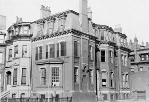 274 Clarendon (ca. 1942), photograph by Bainbridge Bunting, courtesy of The Gleason Partnership