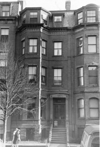 108 Marlborough (ca. 1942), photograph by Bainbridge Bunting, courtesy of The Gleason Partnership