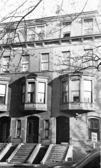 120-122 Marlborough (ca. 1942), photograph by Bainbridge Bunting, courtesy of the Boston Athenaeum