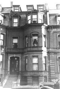 148 Marlborough (ca. 1942), photograph by Bainbridge Bunting, courtesy of The Gleason Partnership