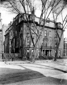 163 Marlborough (1913), photograph by Thomas E. Marr & Con, courtesy of the Boston Athenaeum