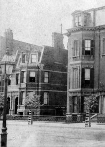 167 Marlborough (ca. 1880; detail from photograph of 167 Marlborough, courtesy of the Boston Athenaeum
