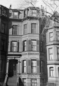 175 Marlborough (ca. 1942), photograph by Bainbridge Bunting, courtesy of The Gleason Partnership