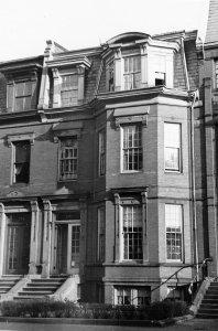 176 Marlborough (ca. 1942), photograph by Bainbridge Bunting, courtesy of The Gleason Partnership