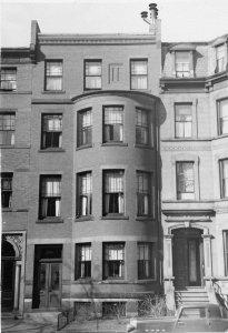 179 Marlborough (ca. 1942), photograph by Bainbridge Bunting, courtesy of The Gleason Partnership