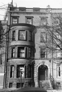 185 Marlborough (ca. 1942), photograph by Bainbridge Bunting, courtesy of The Gleason Partnership
