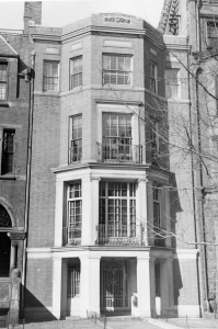 189 Marlborough (ca. 1942), photograph by Bainbridge Bunting, courtesy of The Gleason Partnership