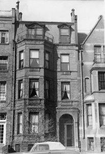 193 Marlborough (ca. 1942), photograph by Bainbridge Bunting, courtesy of The Gleason Partnership