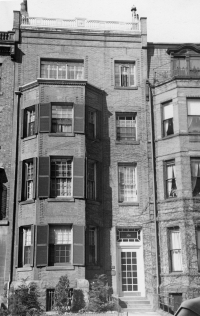 195 Marlborough (ca. 1942), photograph by Bainbridge Bunting, courtesy of The Gleason Partnership