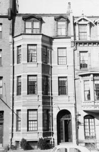 241 Marlborough (ca. 1942), photograph by Bainbridge Bunting, courtesy of The Gleason Partnership
