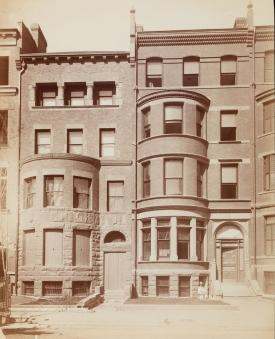 255-257 Marlborough (ca. 1885); Soule Photograph Company, courtesy of Historic New England
