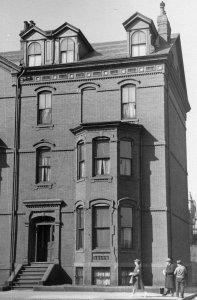 1 Fairfield (ca. 1942), photograph by Bainbridge Bunting, courtesy of The Gleason Partnership