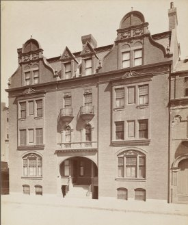8-10 Fairfield (ca. 1880); courtesy of the Print Department, Boston Public Library