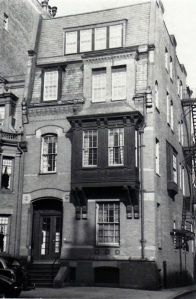 20 Fairfield (ca. 1942), photograph by Bainbridge Bunting, courtesy of the Boston Athenaeum