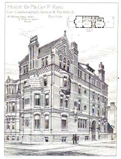 21 Fairfield; The American Architect and Building News, Feb1881