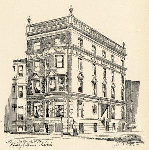 30 Fairfield, drawing from the Inland Architect (Feb1889); Inland Architect Collection, Ryerson and Burnham Libraries, The Art Institute of Chicago (Digital file #IA1301_0285-0286).