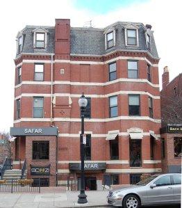 38 Fairfield, 235 Newbury façade (2013)