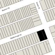 Combined Lot 84' x 112' (9,408 sf)