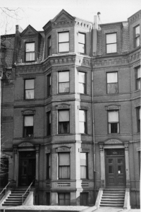 230 Marlborough (ca. 1942), photograph by Bainbridge Bunting, courtesy of The Gleason Partnership