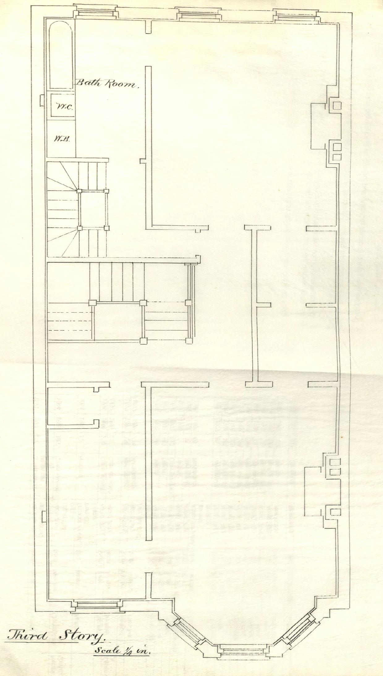 232 marlborough back bay houses for Marlborough house floor plan