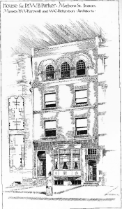 248 Marlborough, drawing from The American Architect and Building News, 22May1886