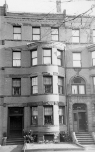252 Marlborough (ca. 1942), photograph by Bainbridge Bunting, courtesy of The Gleason Partnership