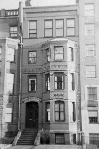 274 Marlborough (ca. 1942), photograph by Bainbridge Bunting, courtesy of The Gleason Partnership