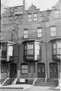 288 Marlborough (ca. 1942), photograph by Bainbridge Bunting, courtesy of The Gleason Partnership