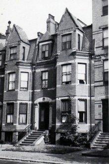 296 Marlborough (ca. 1942), photograph by Bainbridge Bunting, courtesy of the Boston Athenaeum