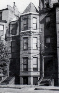300 Marlborough (ca. 1942), photograph by Bainbridge Bunting, courtesy of the Boston Athenaeum