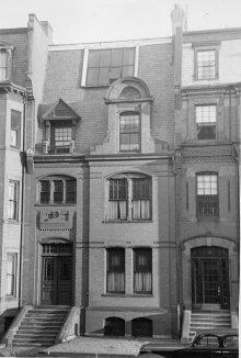 312 Marlborough (ca. 1942), photograph by Bainbridge Bunting, courtesy of The Gleason Partnership