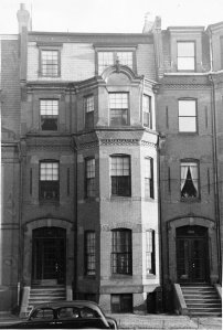 314 Marlborough (ca. 1942), photograph by Bainbridge Bunting, courtesy of The Gleason Partnership
