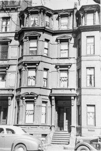 317 Marlborough (ca. 1942), photograph by Bainbridge Bunting, courtesy of The Gleason Partnership