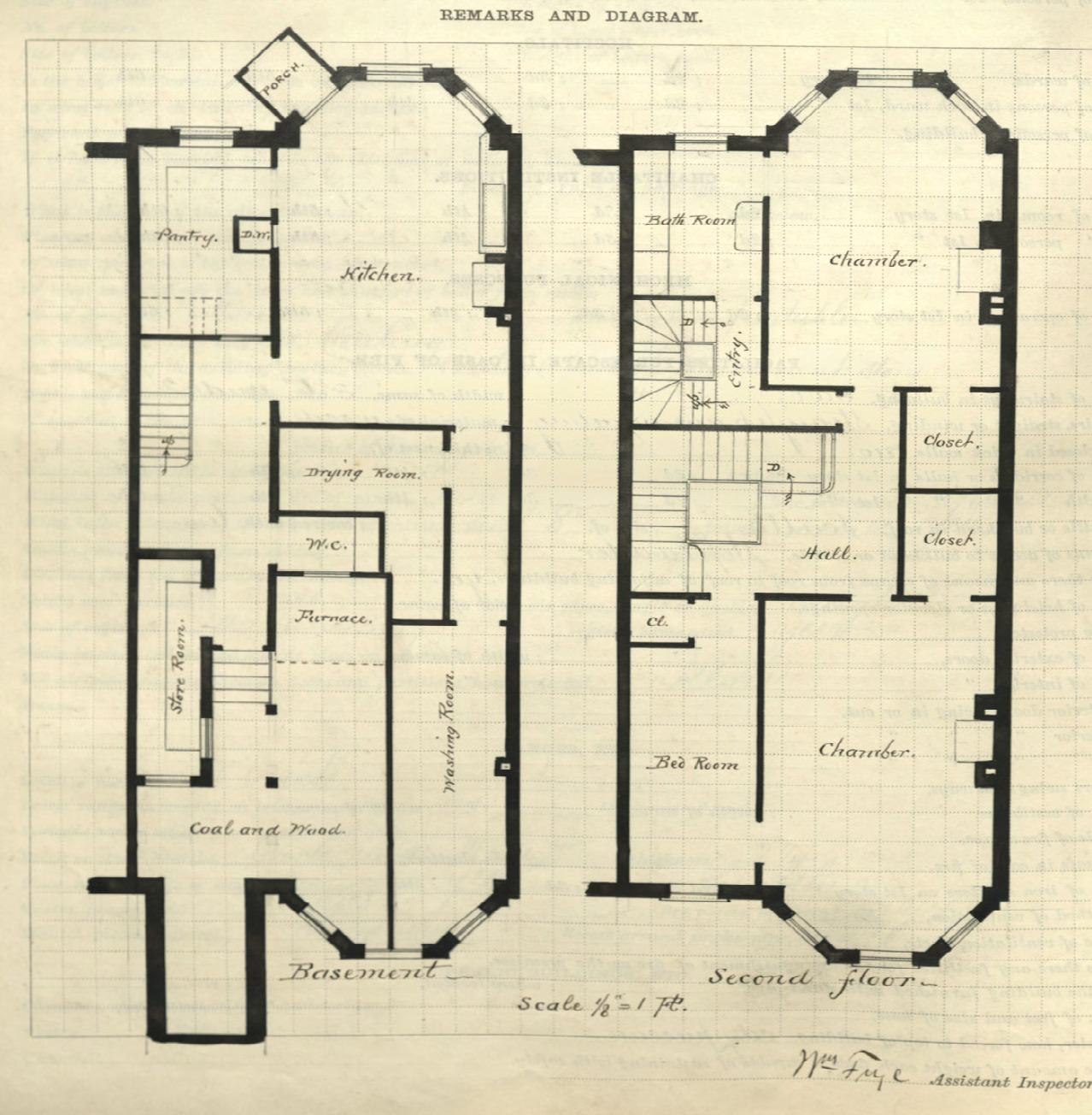 320 marlborough back bay houses for Marlborough house floor plan