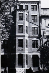 374 Marlborough (ca. 1942), photograph by Bainbridge Bunting, courtesy of the Boston Athenaeum