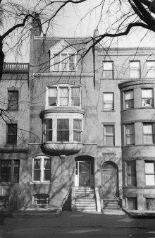 399 Marlborough (ca. 1942), photograph by Bainbridge Bunting, courtesy of The Gleason Partnership
