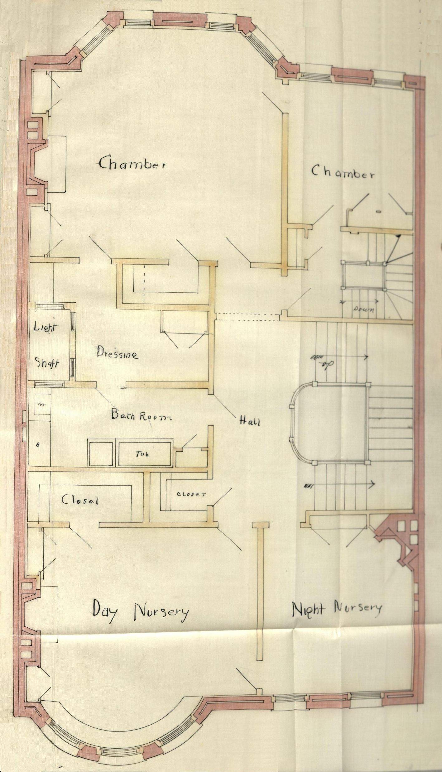 401 marlborough back bay houses for Marlborough house floor plan