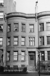 403 Marlborough (ca. 1942), photograph by Bainbridge Bunting, courtesy of The Gleason Partnership