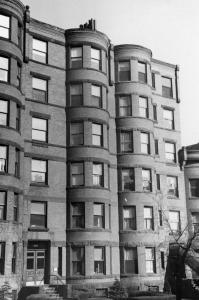 405-407 Marlborough (ca. 1942), photograph by Bainbridge Bunting, courtesy of The Gleason Partnership