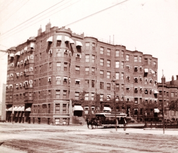 405-411 Marlborough (ca. 1897), courtesy of Historic New England