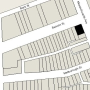 Irregular lot: 48' on Beacon, 63.02' on Massachusetts (3,023 sf)