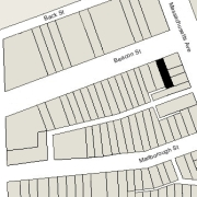 Irregular Lot: 24' on Beacon (2,412 sf)