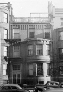 501 Beacon (ca. 1942), photograph by Bainbridge Bunting, courtesy of The Gleason Partnership
