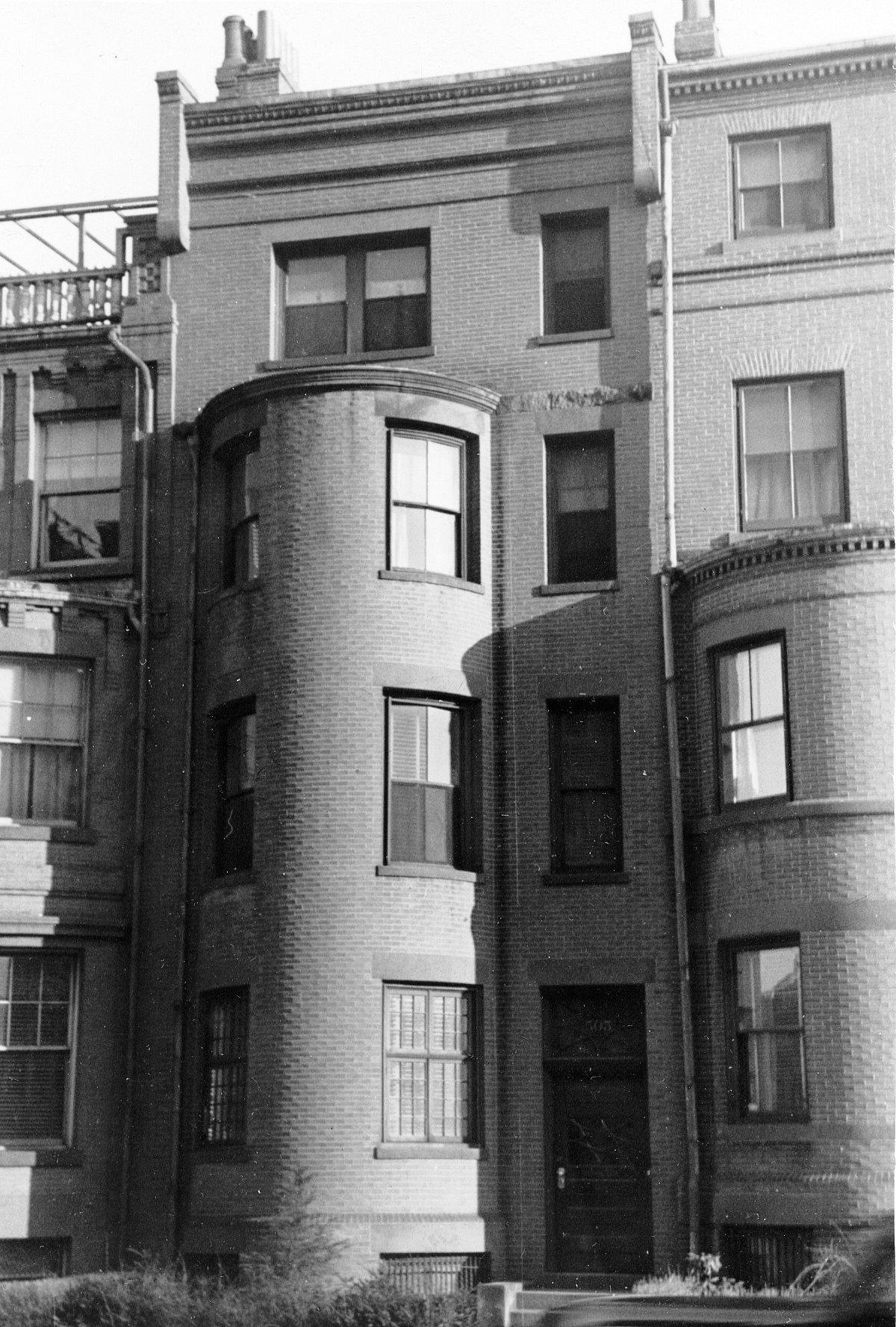 503 Beacon (ca. 1942), Photograph By Bainbridge Bunting, Courtesy Of The