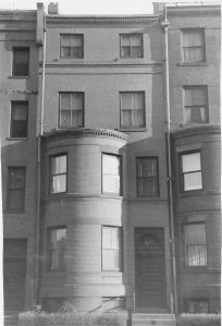 505 Beacon (ca. 1942), photograph by Bainbridge Bunting, courtesy of The Gleason Partnership