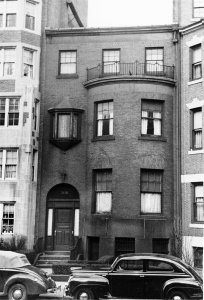 508 Beacon (ca. 1942), photograph by Bainbridge Bunting, courtesy of The Gleason Partnership