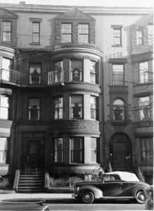 517 Beacon (ca. 1942), photograph by Bainbridge Bunting, courtesy of The Gleason Partnership