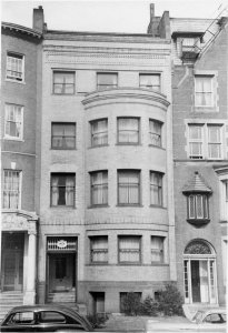 528 Beacon (ca. 1942), photograph by Bainbridge Bunting, courtesy of The Gleason Partnership